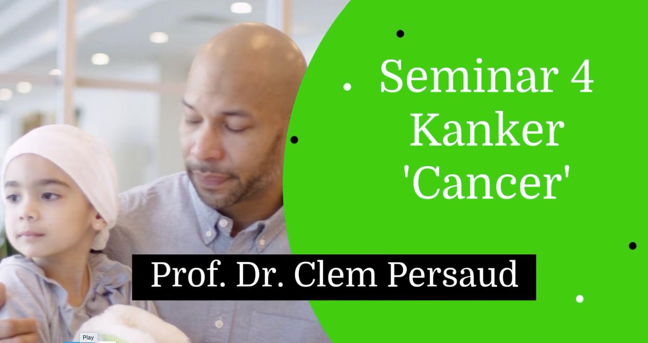 School 2 |Seminar 4. Kanker | Cancer
